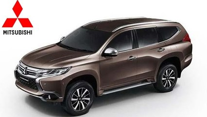 New Mitsubishi Pajero Sport to launch in India during mid-2017
