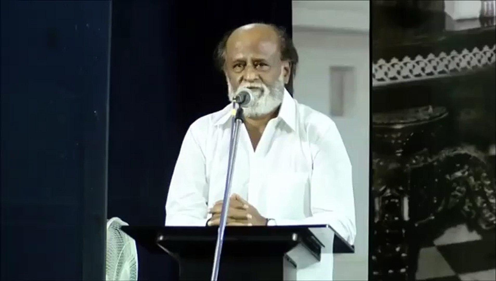 Rajini Says Political and spiritual