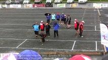 Finale du France Quadrettes Vétérans, Sport Boules, Objat 2015