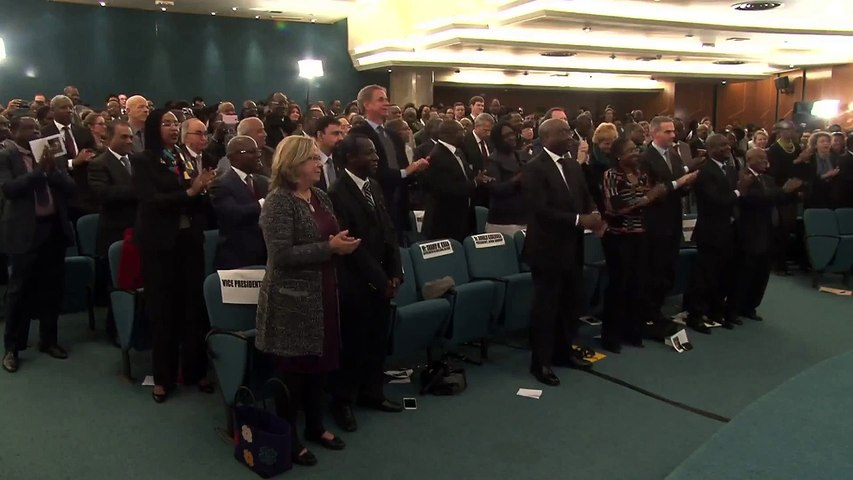 Ceremony in Honor of the Late President NELSON MANDELA