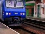 TRAINS SNCF France Ter Z2 AGC Corail Téoz Aqualys Interloire TGV Thalys Eurostar