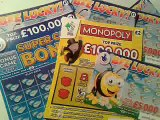 Wow!..Scratchcards..More Winners Than Chicken Dinners.....WOW!