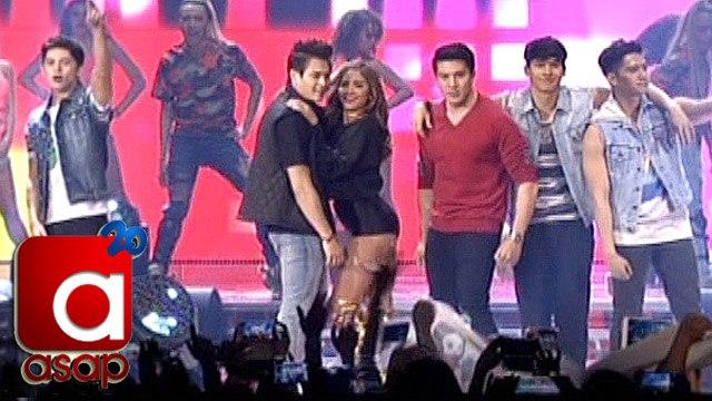"ASAP: Kapamilya Stars dance to ""Nae Nae"" & ""Twerk It Like Miley"" in London"