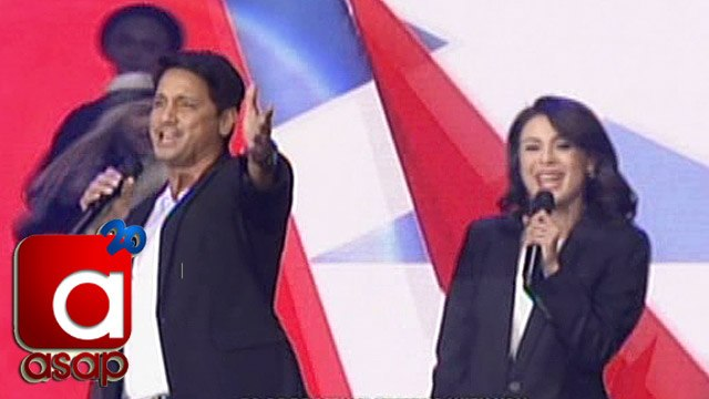 """ASAP: CharDawn, LizQuen, JaDine sing """"Together Forever"""" on ASAP"""