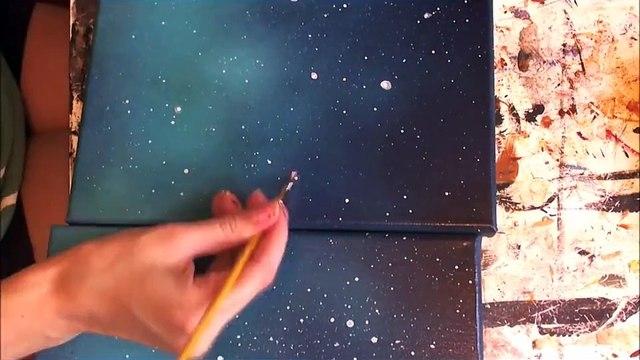 Amazing Spray Paint Art - Spray Painting - Street Art - Space Art - Space Painting