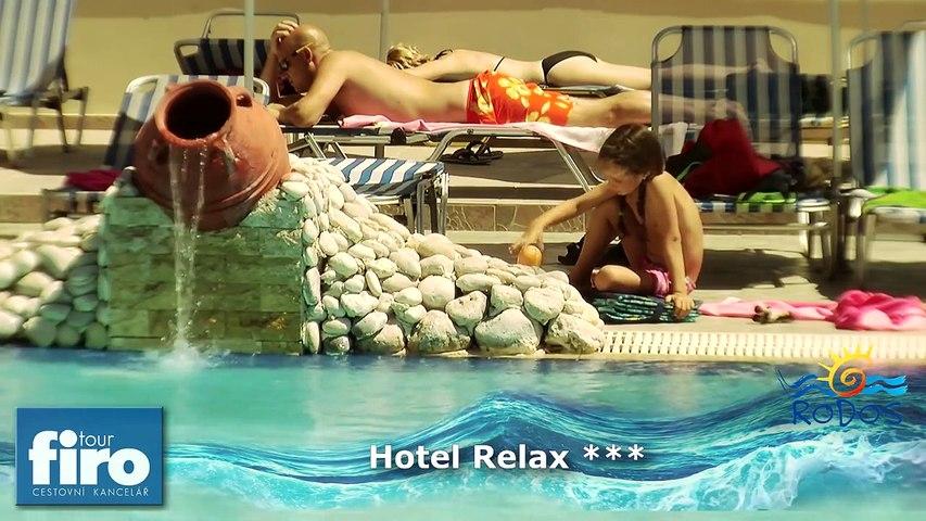 Hotel Relax ***+, Rhodos - Řecko - FIRO-tour