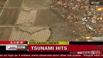 زلزال بقوة 8 9 ريختر يضرب عاصمة اليابان اليوم الجمعه 11 مارس 2011 وتحذيرات من عودة تسونامي