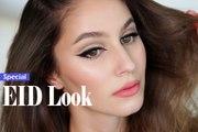 Cat Eye makeup Tutorial with Berry Lips | Eid Makeup Look