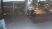 Überwachungsvideo: Ex-Tennis-Profi von Polizist zu Boden geworfen
