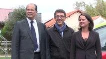J-C Cambadélis à la Fête de la rose de Préfailles en Loire Atlantique
