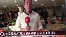 Hongrie septembre 2015. Bienvenue à nos frères musulmans!