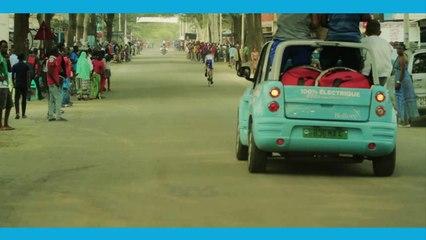 Jeux Africains: Les voitures électriques Bluecongo, sur les épreuves cyclistes