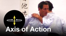 """Aikido: """"Axis of Action"""". Christian Tissier Shihan"""