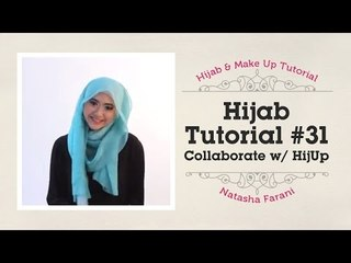 Hijab Tutorial - Natasha Farani (Collaborated with HijUp) #31