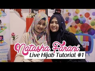 Live Hijab Tutorial at HelloFest 2014 #1