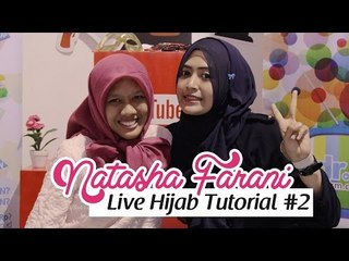 Live Hijab Tutorial at HelloFest 2014 #2