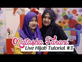 Live Hijab Tutorial at HelloFest 2014 #3