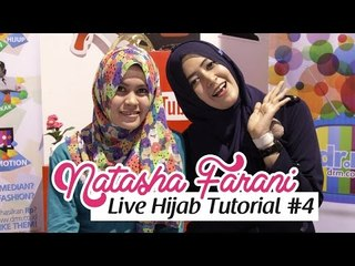 Live Hijab Tutorial at HelloFest 2014 #4