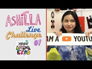 Ashilla - Live Challenge at HelloFest 2014 part #1