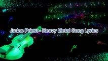 Judas Priest – Heavy Metal Song Lyrics