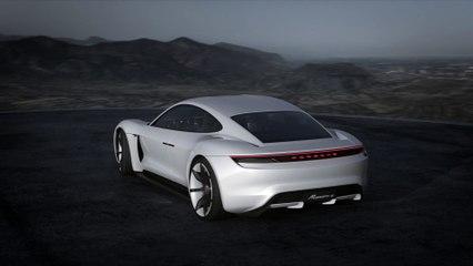 Concept Porsche Mission E en détails