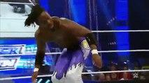 Roman Reigns Randy Orton_Neville vs Sheamus Kane_Kofi Kingston_SmackDown June 11-2015 WWE Wrestling