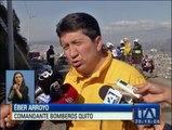 30 incendios forestales afectaron a Quito. Hay tres bomberos heridos