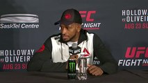 UFC Fight Night Saskatoon Post-fight Press Conference -