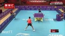 L'échange le plus intense de l'histoire du Ping-Pong.... 42 échanges entre Xu Xin et Zhu Linfeng