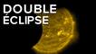 SDO observe une double éclipse du Soleil