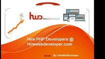 Hire Php Developer India | Hire PHP Programmer | Hire Dedicated PHP Developer