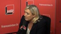 Marine Le Pen compare les migrants aux invasions barbares du «IVe siècle»