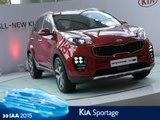 Kia Sportage en direct du salon de Francfort 2015