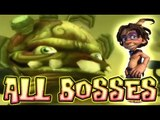 Tak and the Guardians of Gross All Bosses | Boss Battles (PS2, Wii)