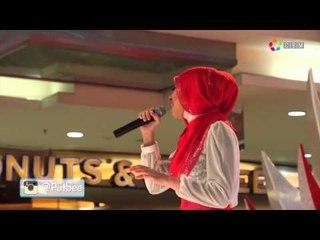 Putri Bella - Listen (COVER) at Plaza Semanggi 2015