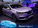 Renault Mégane en direct du salon de Francfort 2015