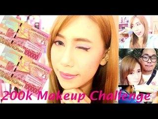 200k Makeup Challenge (ft. Boyfriend) || Acne Coverage