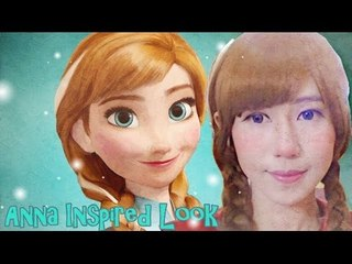 Anna Inspired Makeup Tutorial (from Disney Frozen by NaoKitty)