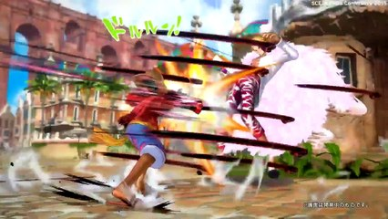 One Piece Burning Blood - PS4 & PSVita - TGS 2015 Trailer