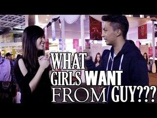 Apa yang cewek pengen dari cowok? | Asking Bandung Girls #1
