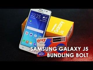 [Review] Samsung J5 Bundling Bolt 4G - Indonesia