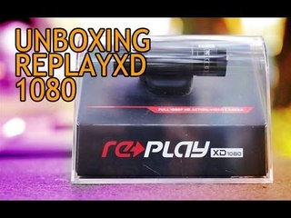 Unboxing Action Camera ReplayXD 1080