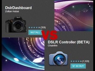 Review DSLR Monitoring Untuk Android - DSLR Controller vs DSLR Dashboard