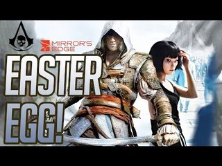 Assassin's Creed 4 - Mirror's Edge Easter Egg