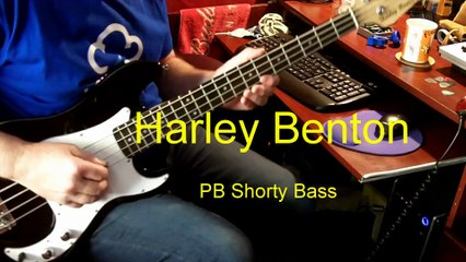 Harley Benton PB Shorty Bass - video dailymotion