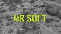 Airsoft é praticado por amigos em momentos de lazer em Aracruz