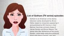 List of Gotham (TV series) episodes