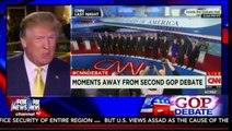 Donald trump Hannity Post CNN Debate On Carly Fiorina Attacking Women FULL Interview