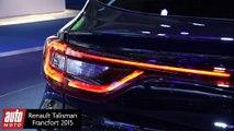 Renault Talisman 2016 : la nouvelle berline française présentée à Francfort