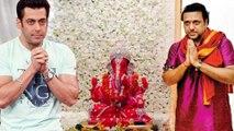 Bollywood Celebs Welcome Lord Ganesha | Salman Khan,Govinda & Celebs